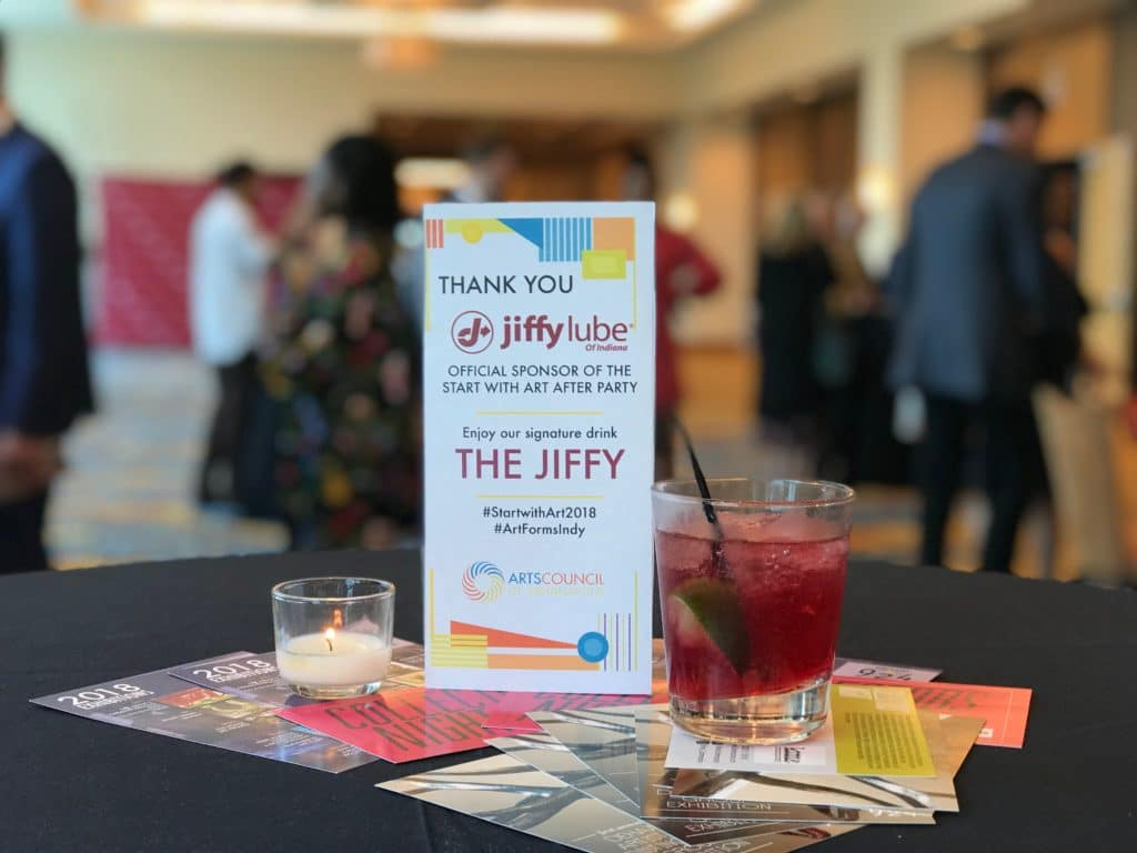 Jiffy Lube of Indiana Arts Council of Indianapolis