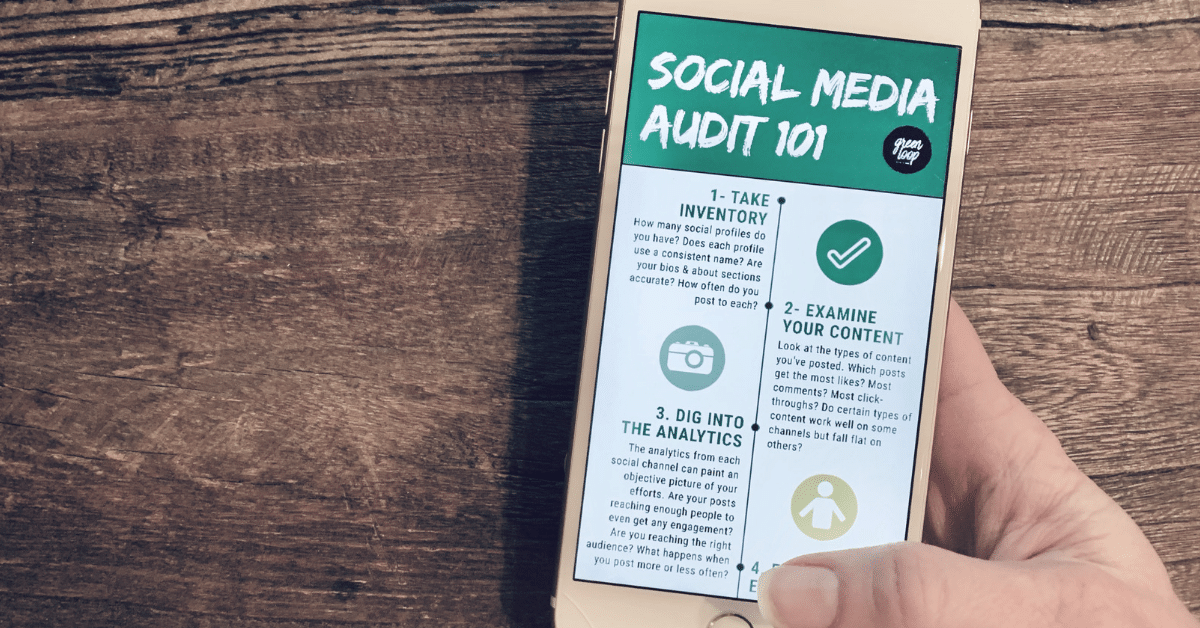 How To Conduct A Social Media Audit - Green Loop Marketing - Marketing Agency in Indianapolis, IN